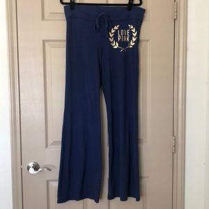 Victoria's Secret PINK navy sweatpants